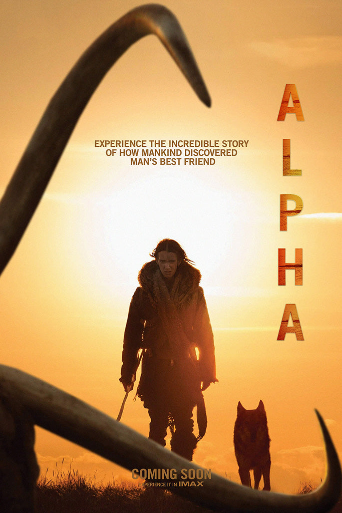 Alpha Movie Poster August 2018