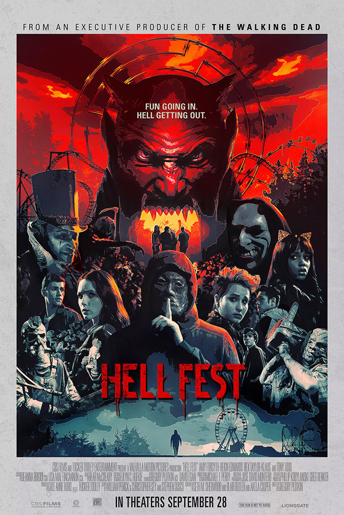 Hell Fest Movie Poster September 2018