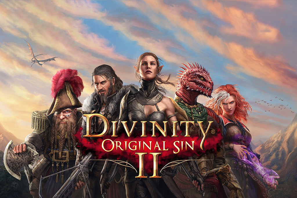 Divinity Original Sin 2 Definitive Edition Games Poster 2018