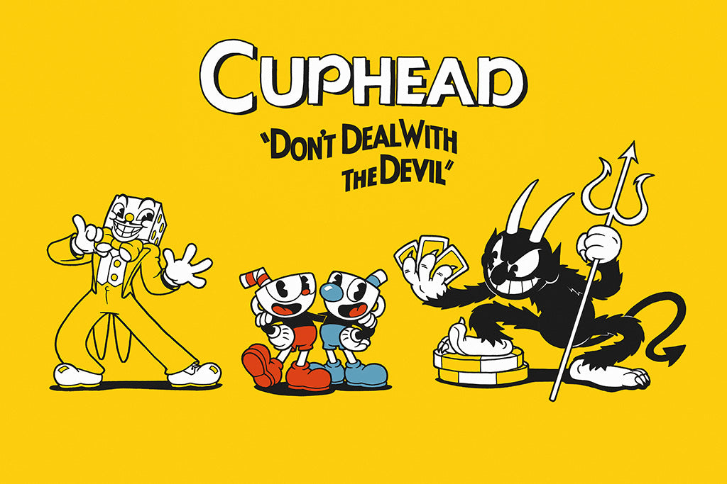 Cuphead Games Poster 2018