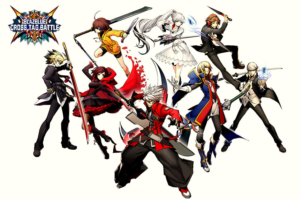 BlazBlue Cross Tag Battle Games Poster