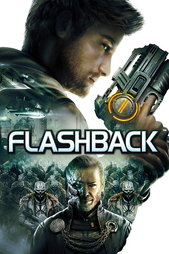 Flashback Remastered Edition Games Poster