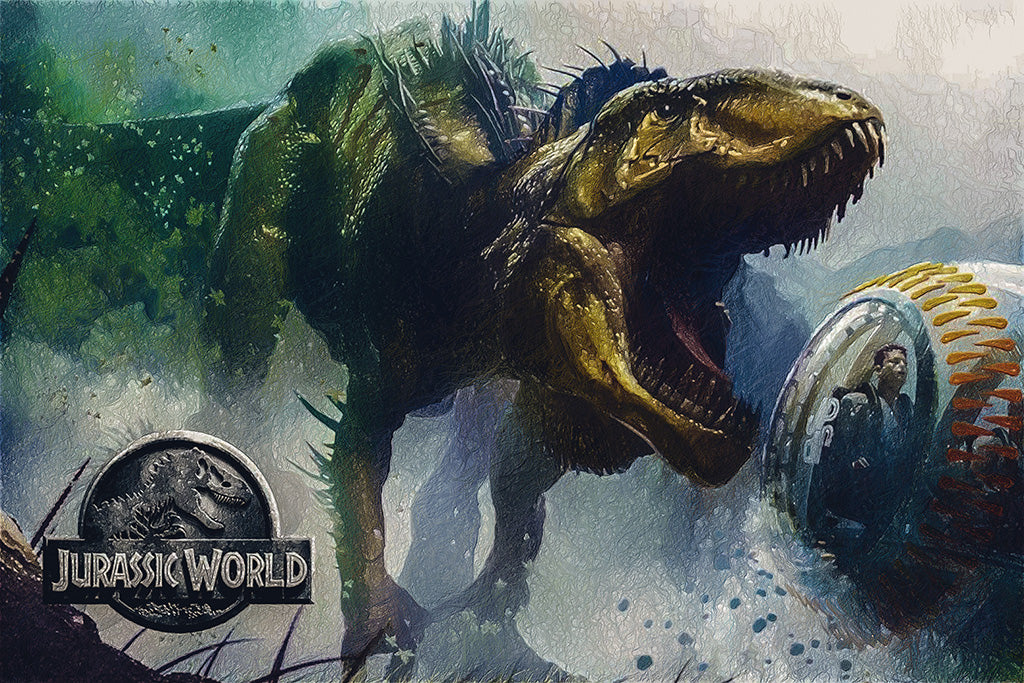 Jurassic World Evolution Games Poster