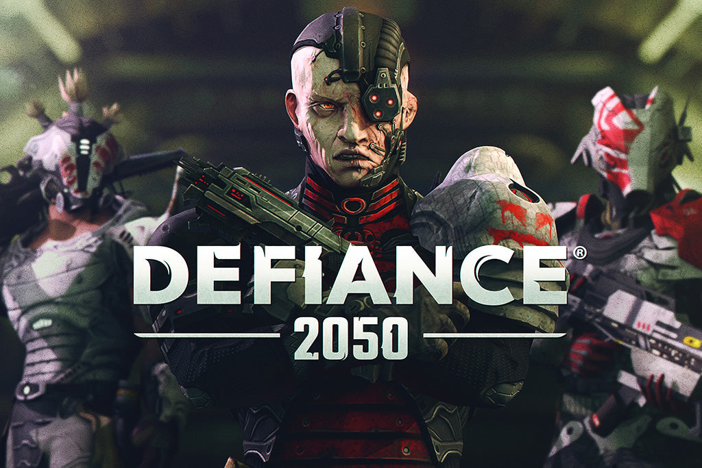 Defiance 2050 Games Poster