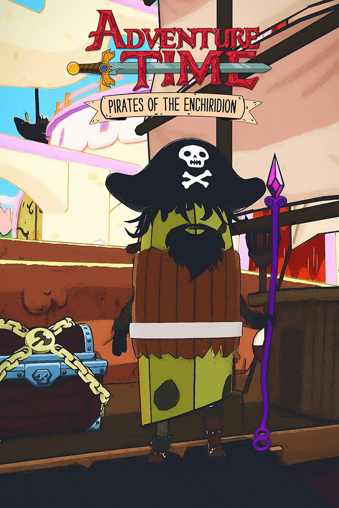 Adventure Time Pirates of the Enchiridion Games Poster