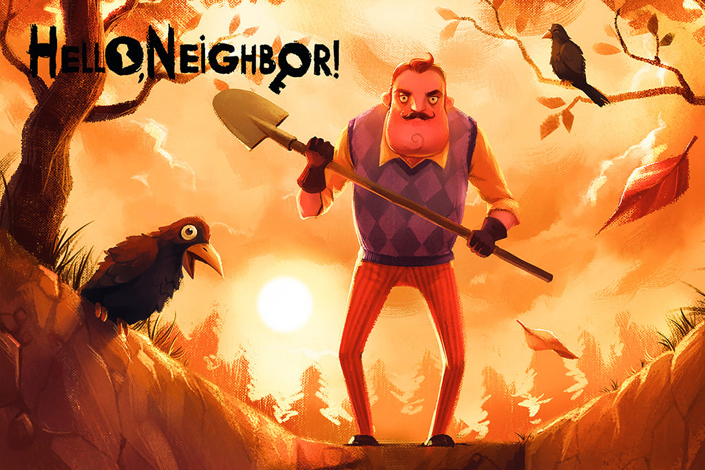 Hello Neighbor Games Poster