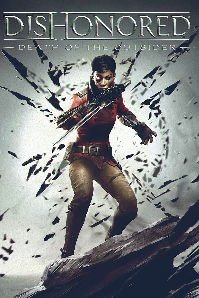 Dishonored Death of the Outsider Games Poster