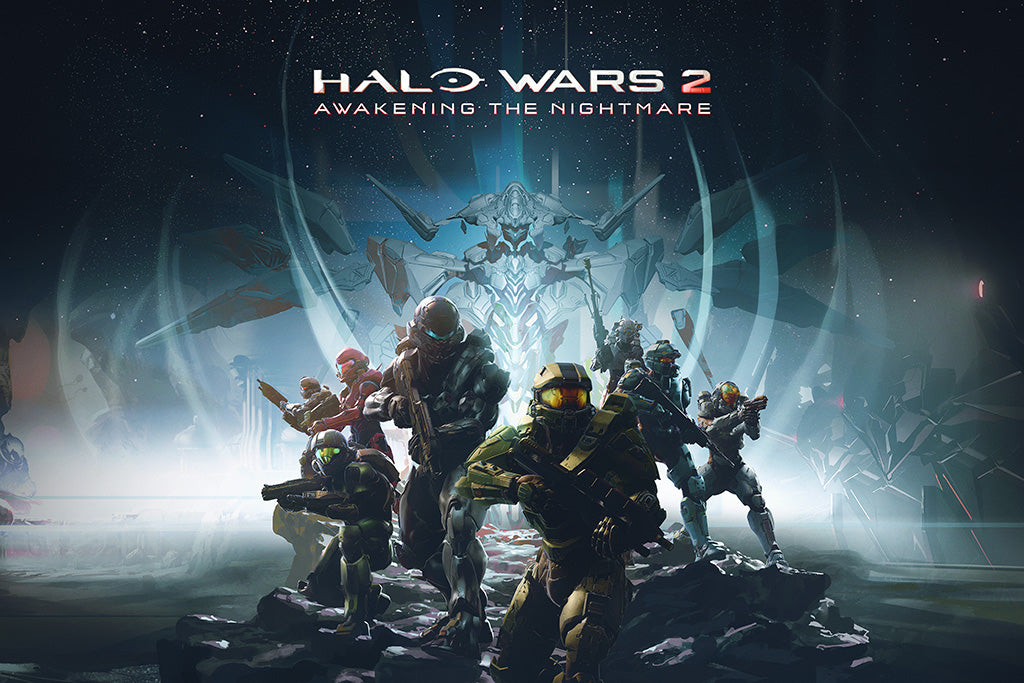 Halo Wars 2 Awakening the Nightmare Game Poster