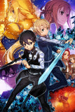 Sword Art Online Alicization Anime Poster