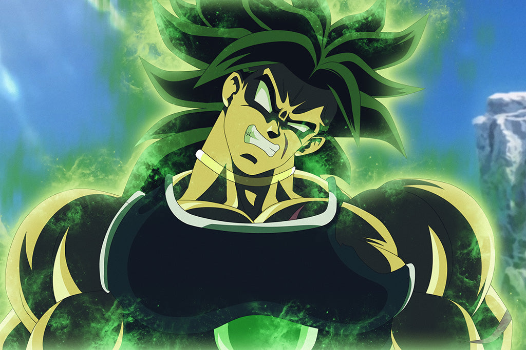 Dragon Ball Super Movie Broly Anime Poster