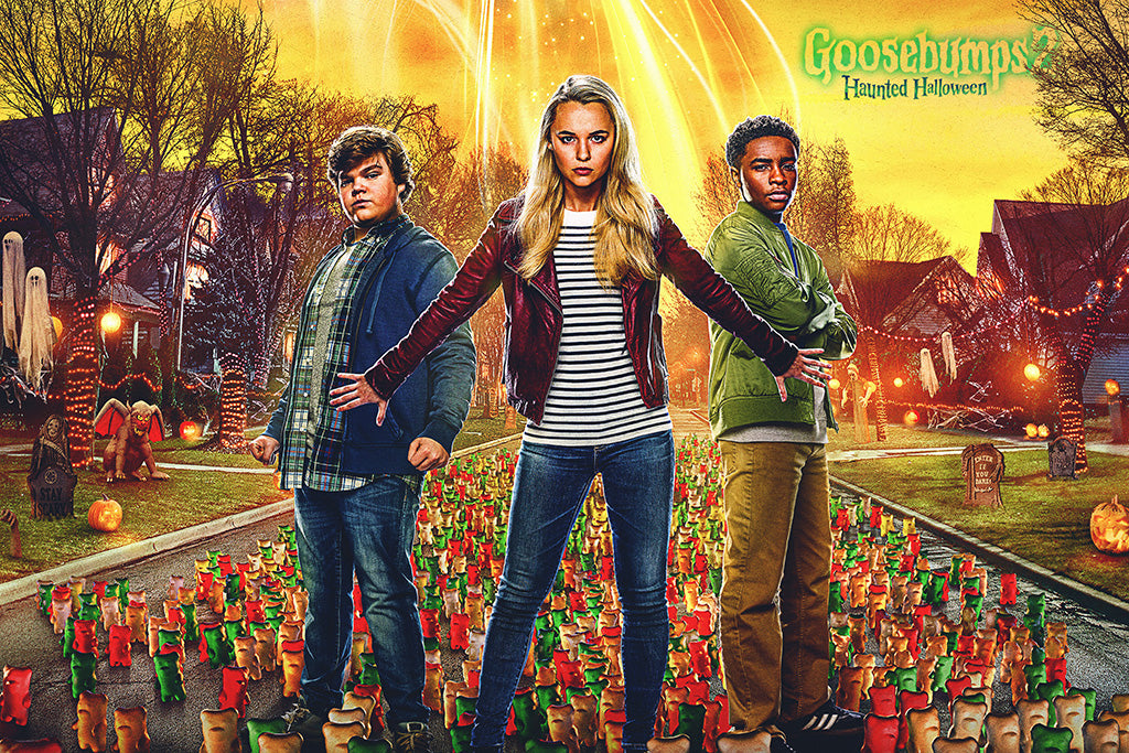 Goosebumps 2 Haunted Halloween Film Poster