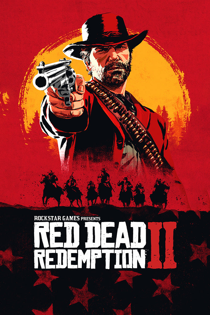 Red Dead Redemption 2 Game Poster