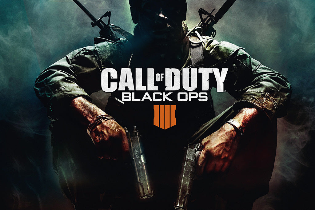 Call of Duty Black Ops 4 Game Poster