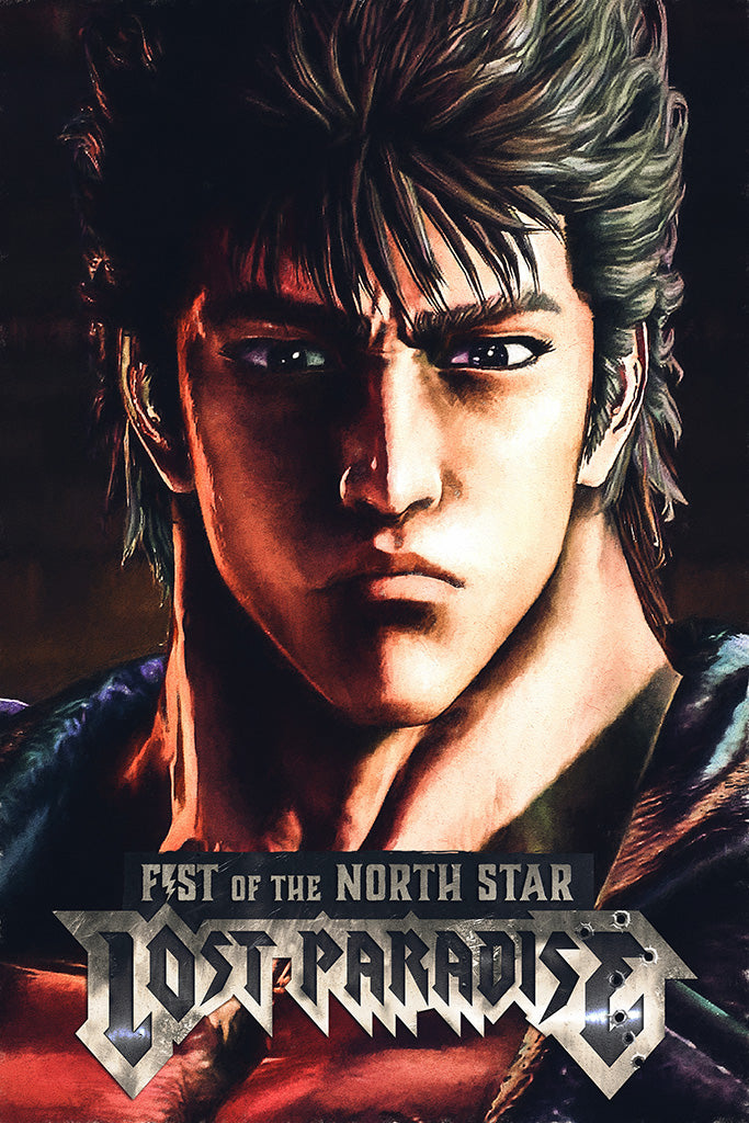 Fist of the North Star Lost Paradise Game Poster