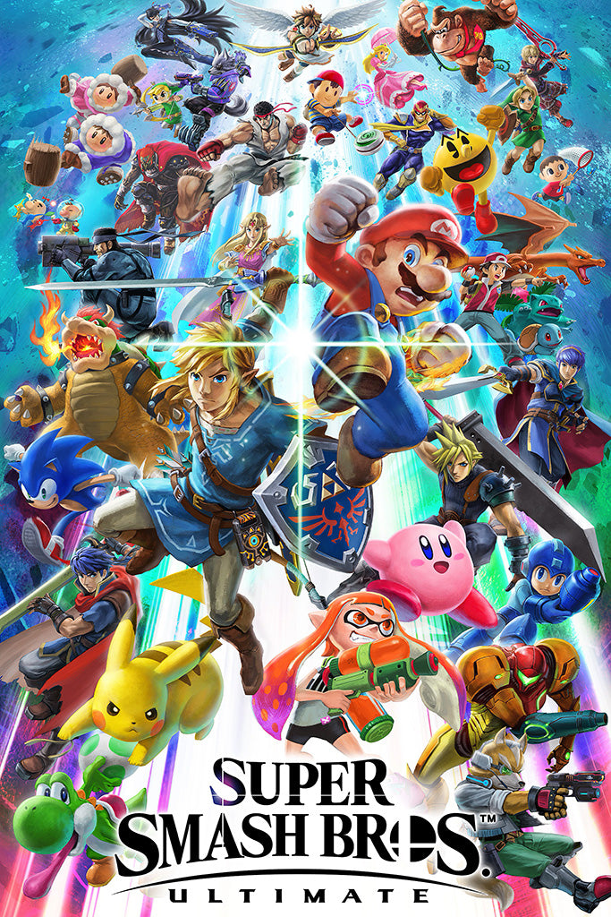 Super Smash Bros. Ultimate Game Poster