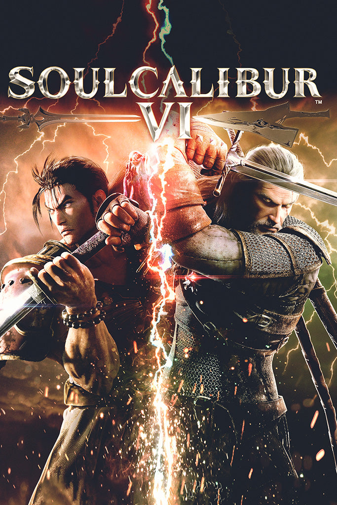Soulcalibur VI Game Poster – My Hot Posters