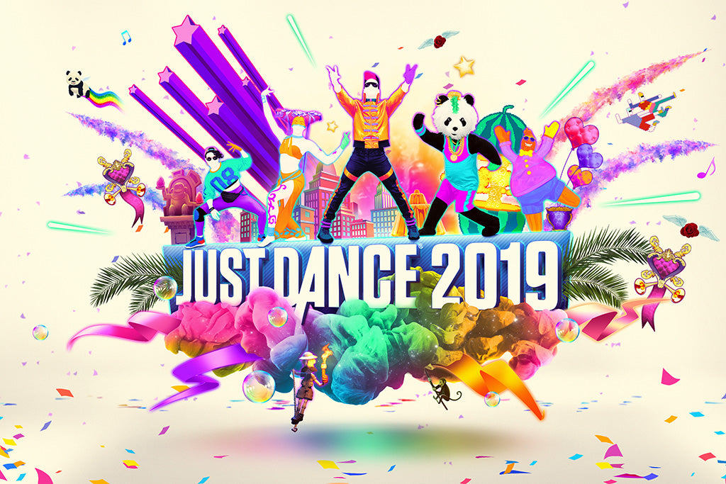 Just Dance 2019 Game Poster