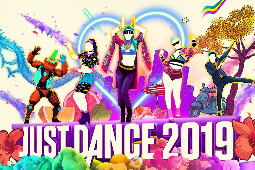 Just Dance 2019 Video Game Poster