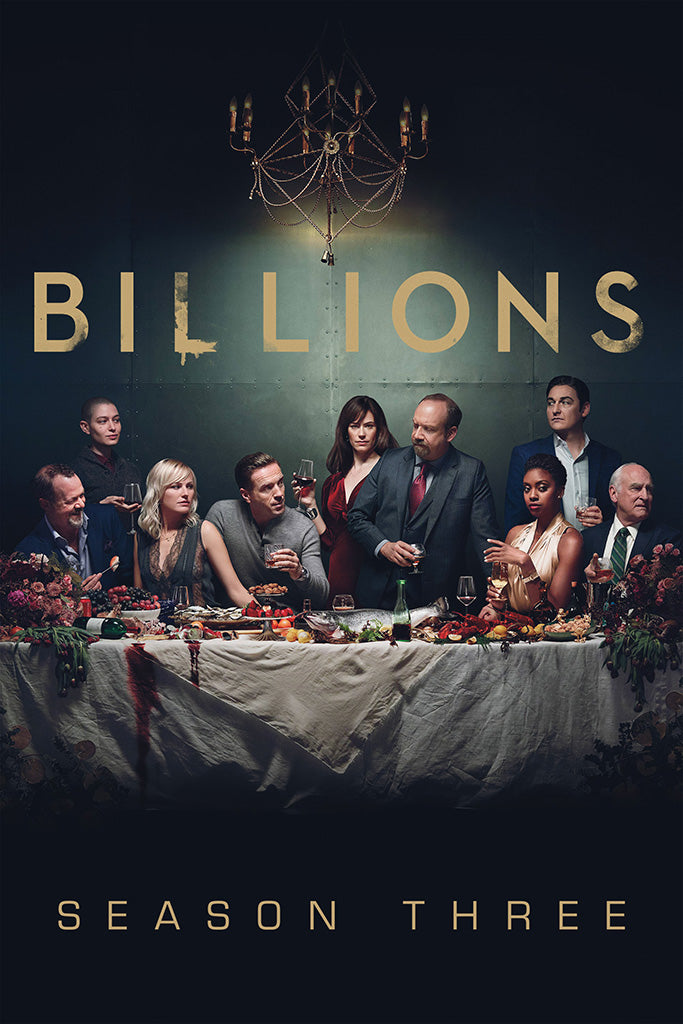 Billions TV Shows Poster