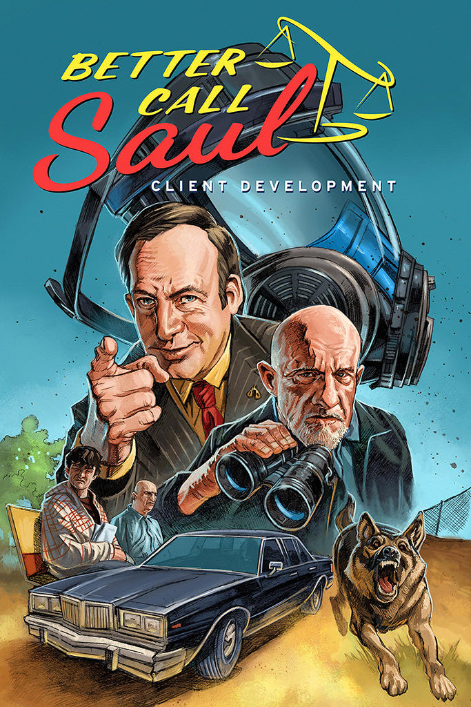 Better Call Saul TV Shows Movie Poster