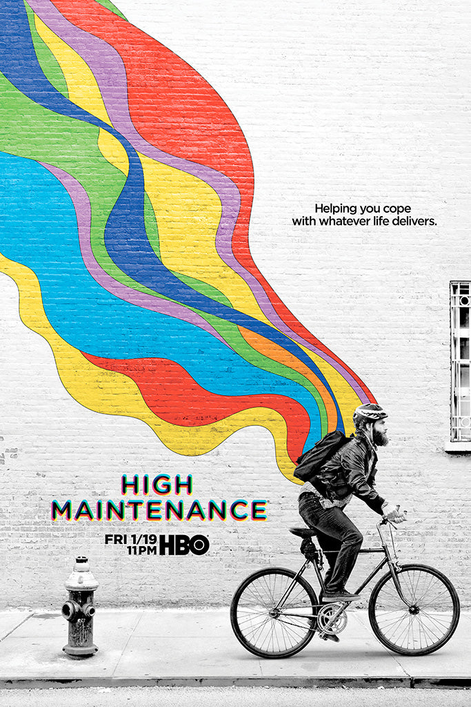 High Maintenance TV Shows Poster