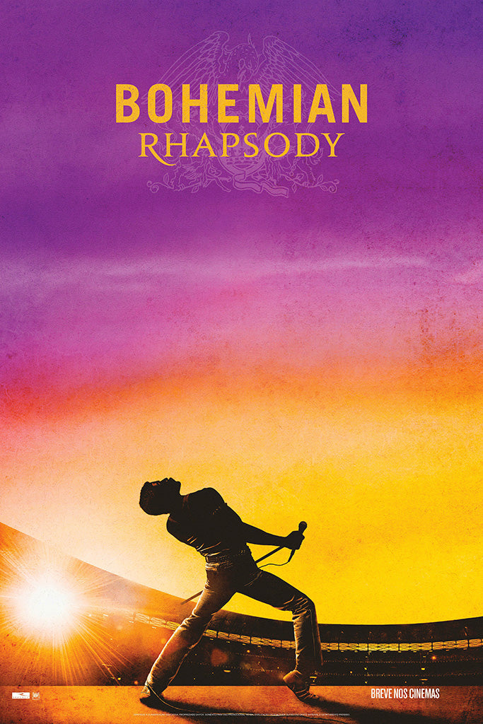 Bohemian Rhapsody Movie Film Poster