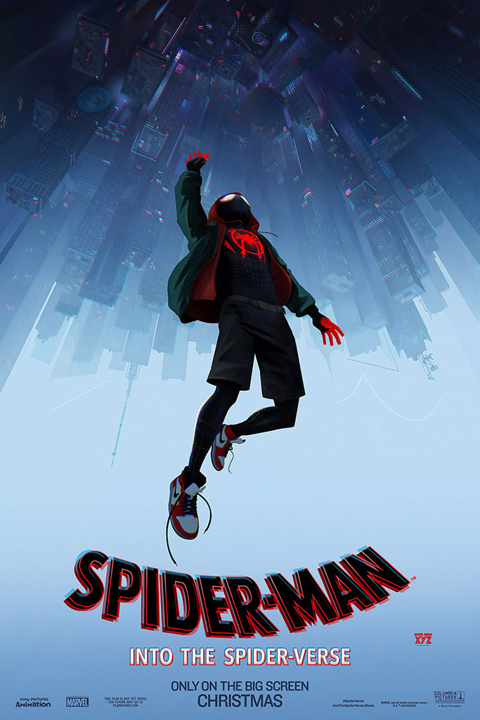 Spider Man Into The Spider Verse Poster