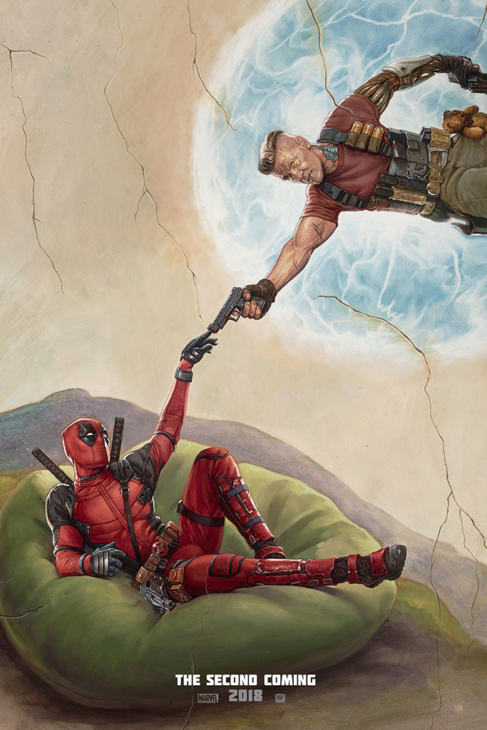 Official Print Once upon a Deadpool Movie Poster High Quality