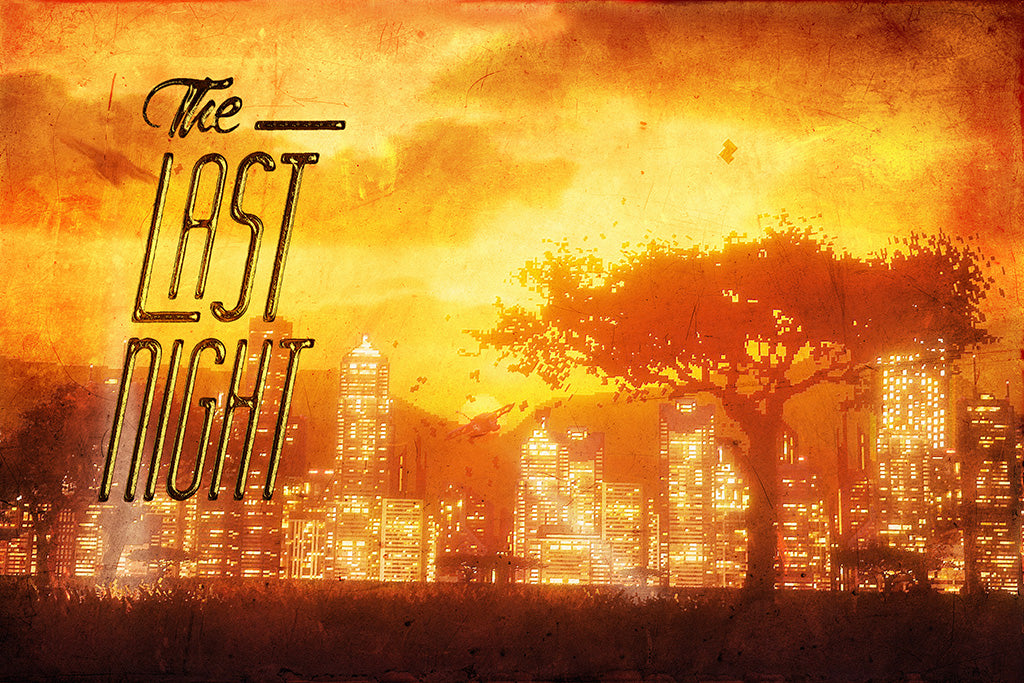 The Last Night Game Poster