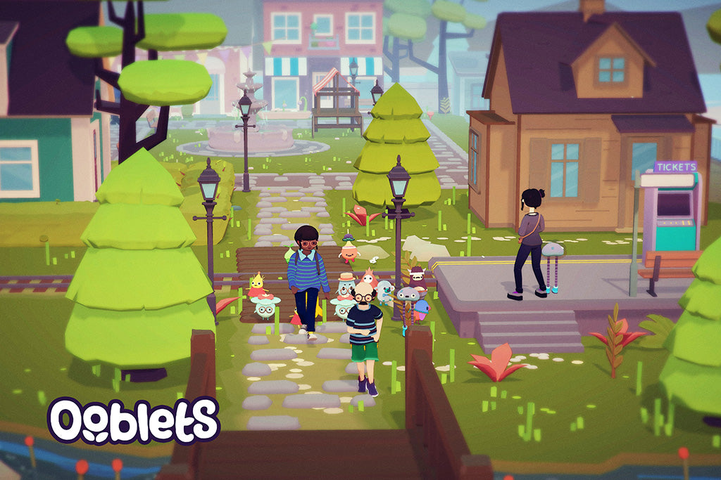 Ooblets Video Game Poster