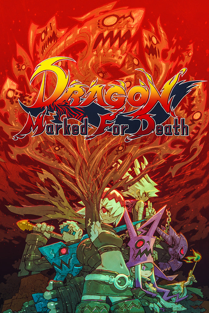 Dragon Marked for Death Poster