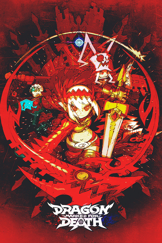 Dragon Marked for Death Game Poster