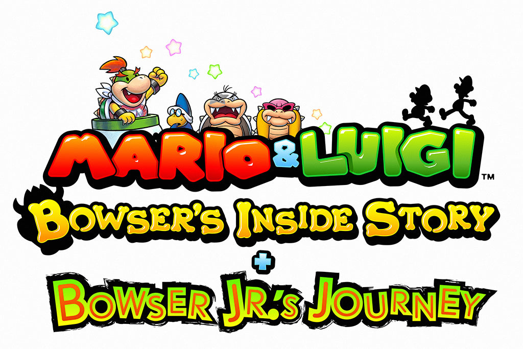 Mario And Luigi Bowser's Inside Story + Bowser Jr.'s Journey Game Poster