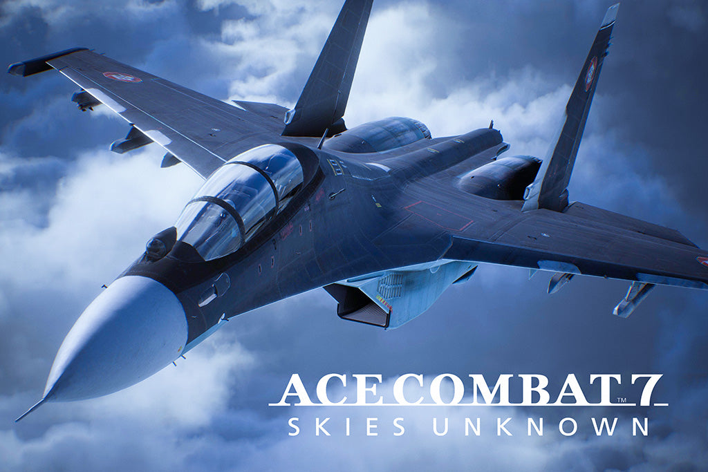 Ace Combat 7 Skies Unknown Poster