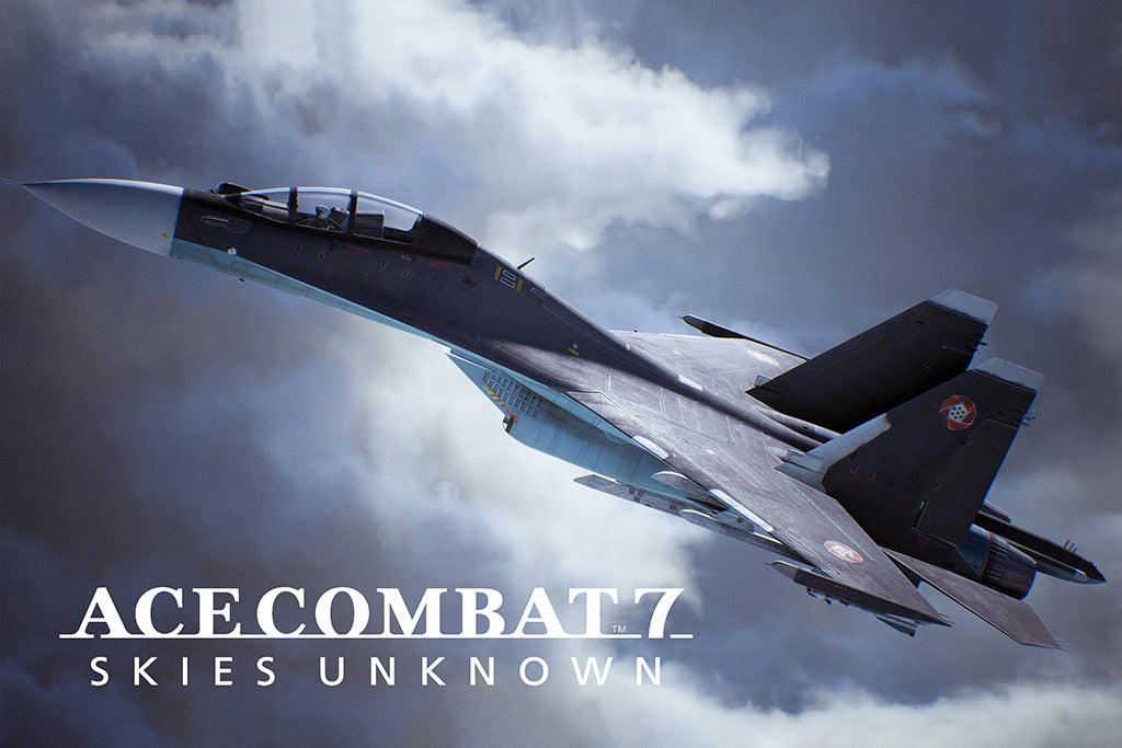 Ace Combat 7 Skies Unknown Video Game Poster
