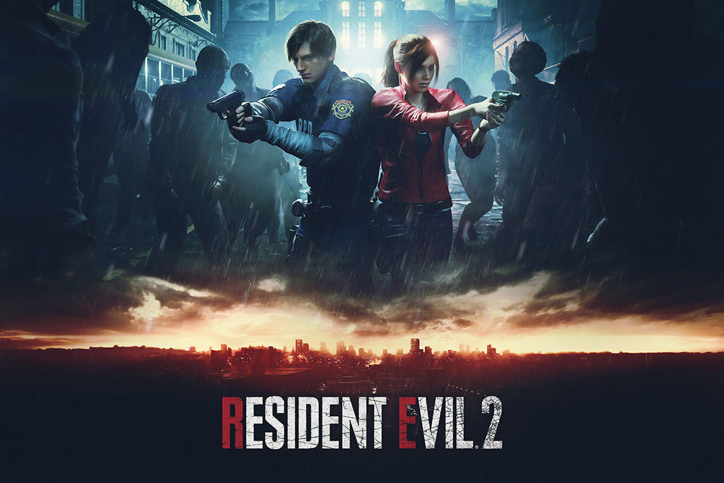 Resident Evil 2 Remake Poster My Hot Posters
