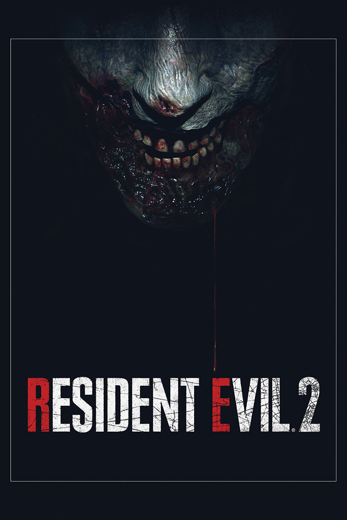 Resident Evil 2 Remake Game Poster My Hot Posters