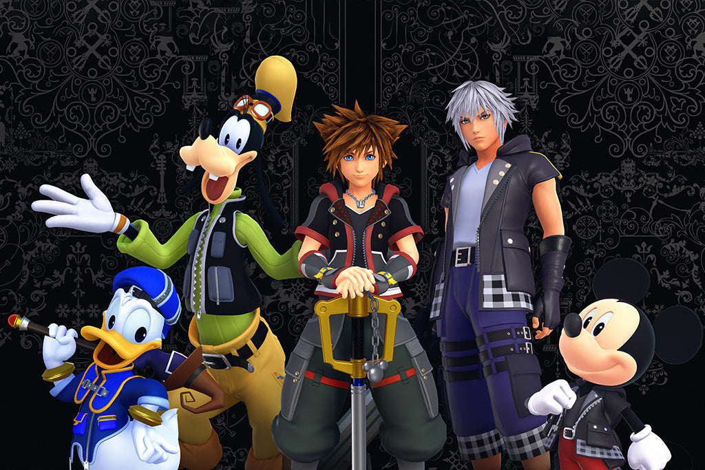 Kingdom Hearts III Game Poster