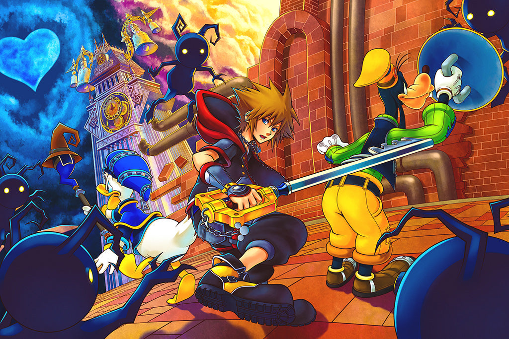 Kingdom Hearts III Video Game Poster