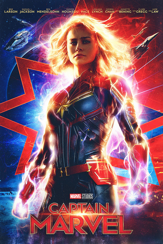 Captain Marvel 2019 Movie Poster