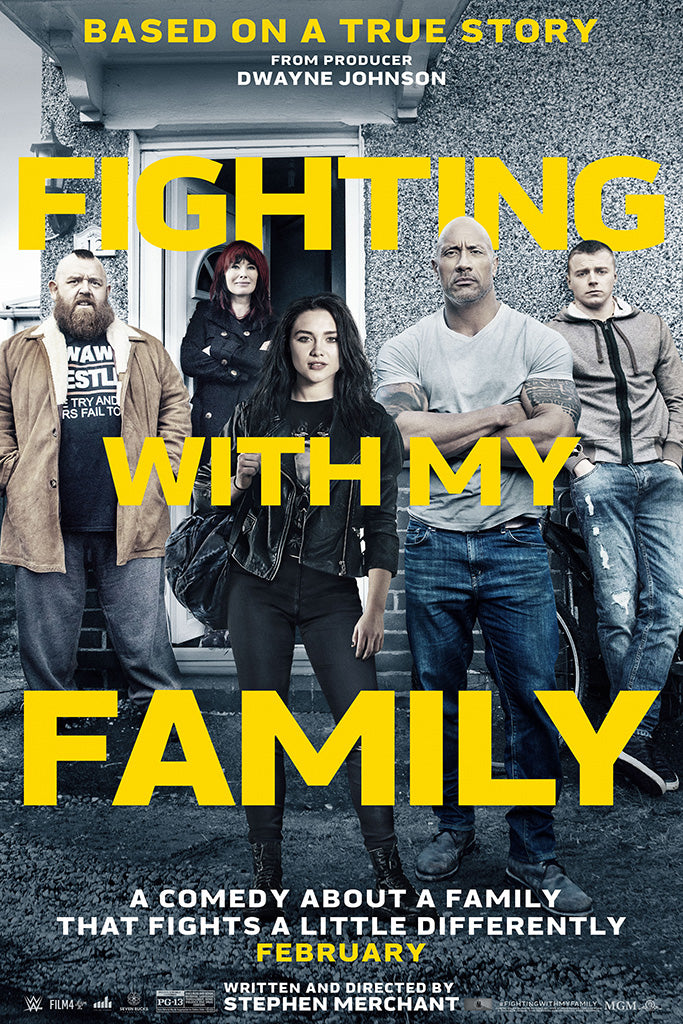 Fighting with My Family Movie Film Poster