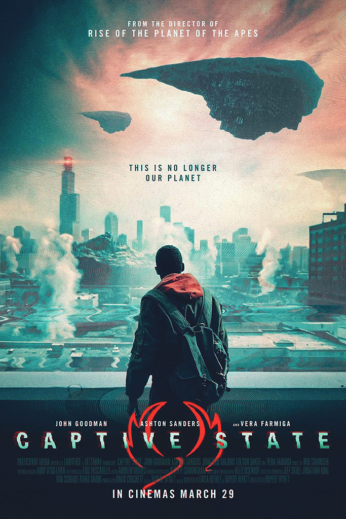 Captive State Movie Film Poster