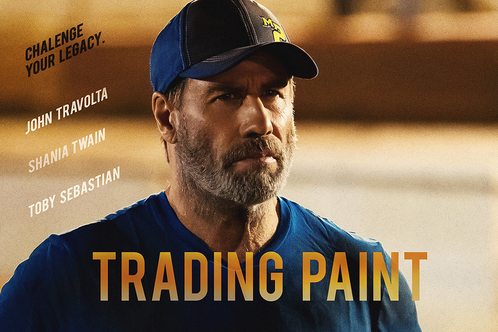 Trading Paint Movie Film Poster