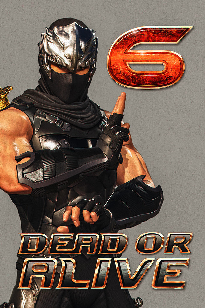 Dead or Alive 6 Video Game Poster