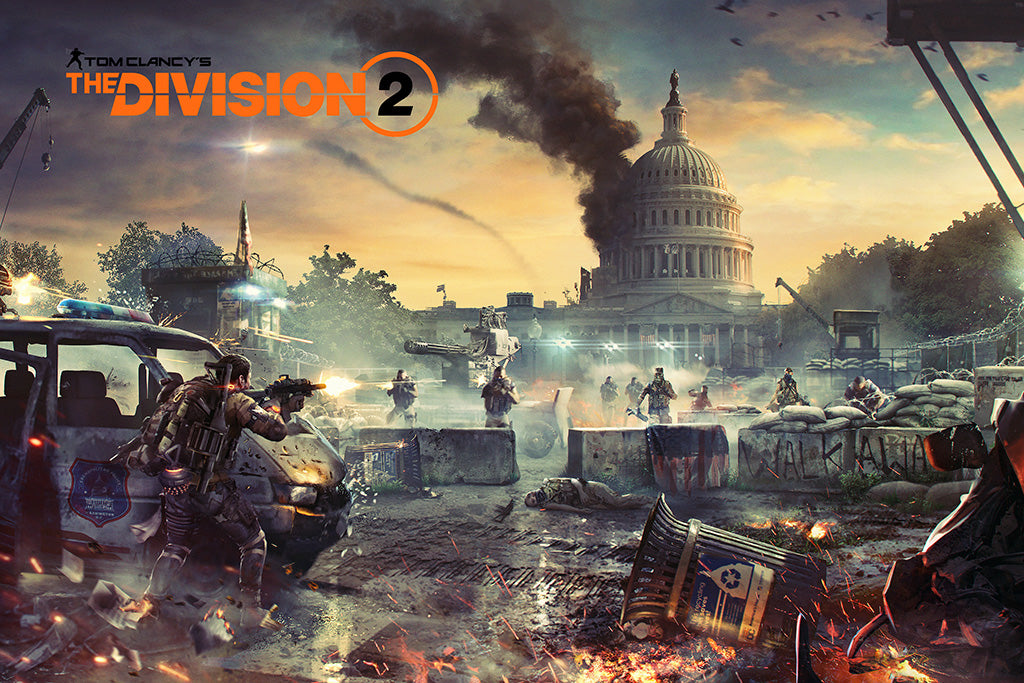 Tom Clancy's The Division 2 Game Poster