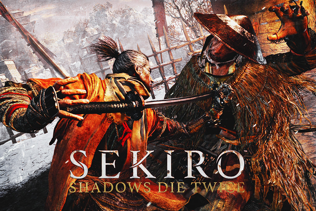 Sekiro Shadows Die Twice Game Poster