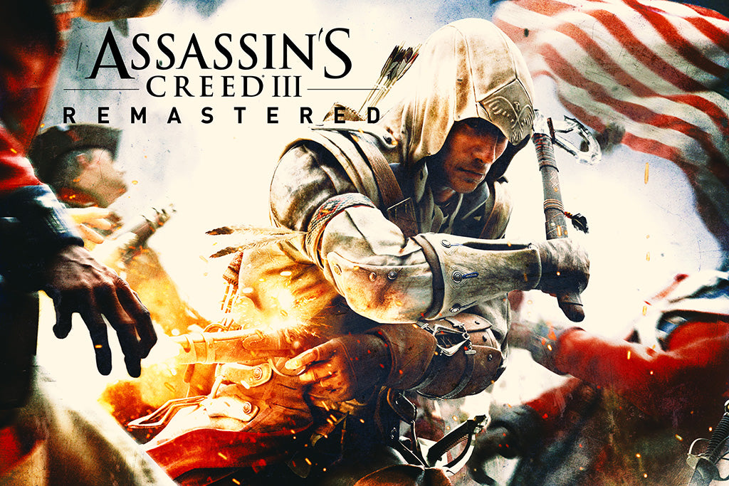 Assassin's Creed III Remastered Game Poster