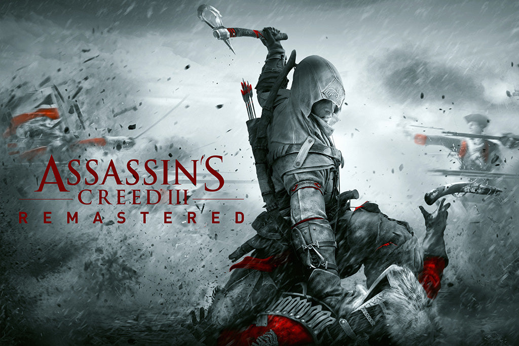 Assassin's Creed III Remastered Video Game Poster
