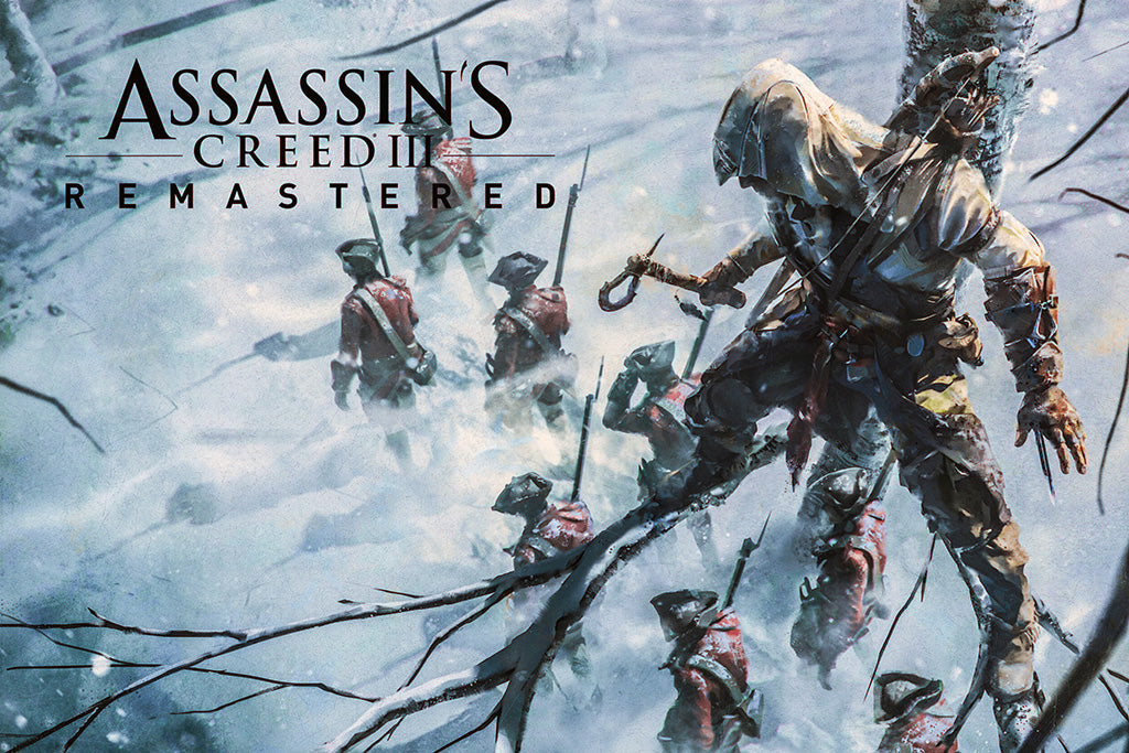 Assassin's Creed III Remastered Games Poster