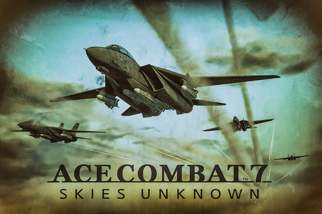 Ace Combat 7 Skies Unknown Video Games Poster